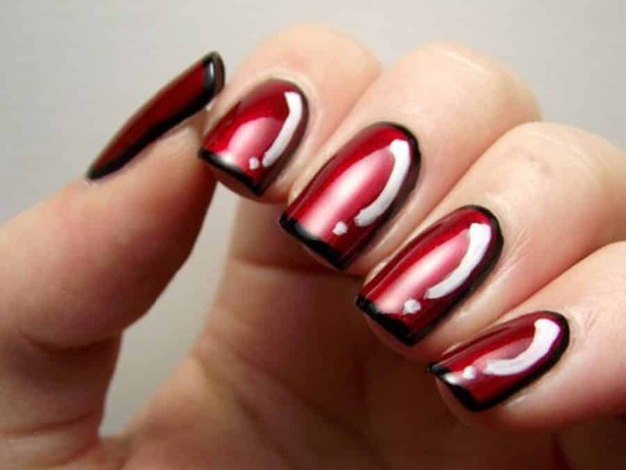 Red Nails 8