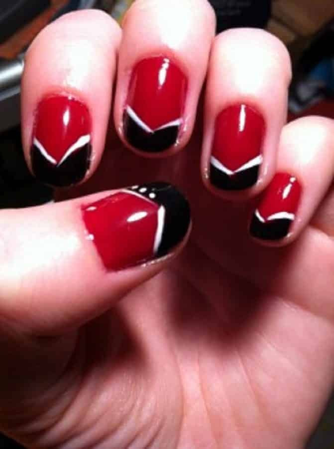 Red Nails 9