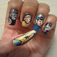 13 Out of This World Star Trek Nail Designs