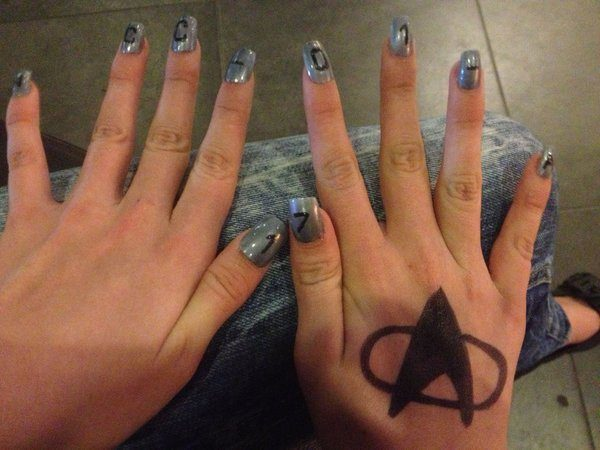 Silver Nails with Enterprise Number