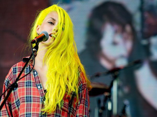 Rockstar With Yellow Hair