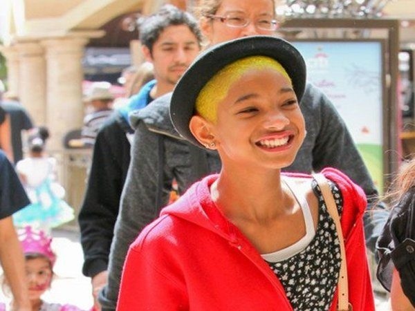 Willow Smith and Her Yellow Hair