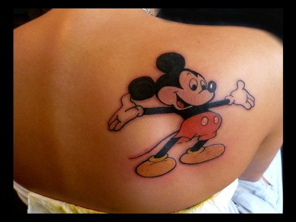 Mickey Mouse with Arms Spread