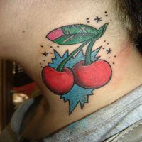 13 Cute and Fruity Cherry Tattoo Designs