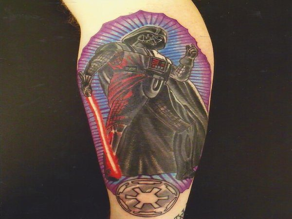 Our Lady of Darth Vader Tattoo