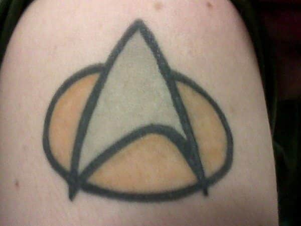 Star Trek Insignia From Television Show