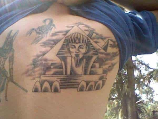 8bc74d30c Egyptian Sphinx, Pyramid, and Egyptian God Tattoos