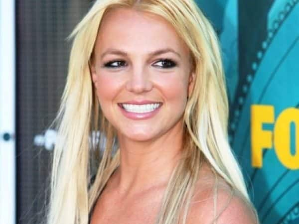 Britney Spears with Long Blond Hair