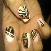 11 Excellent Egyptian Nail Designs