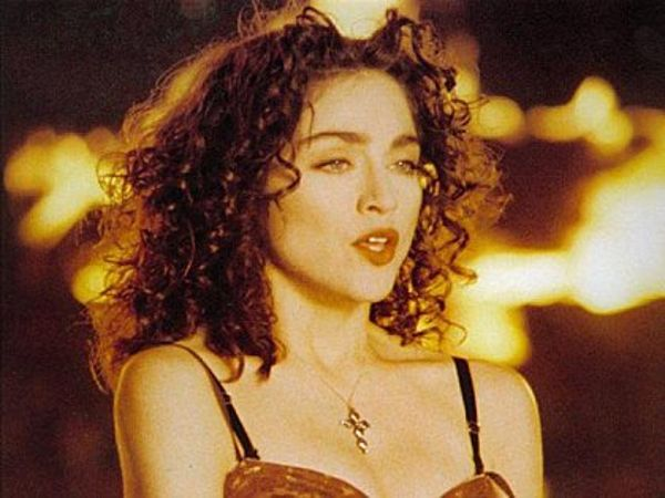 Madonna From Like A Prayer Video As Brunette