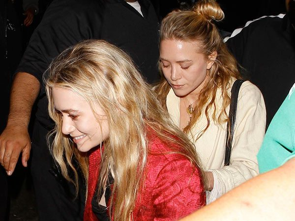 Mary Kate Olsen with Long Blond Hair