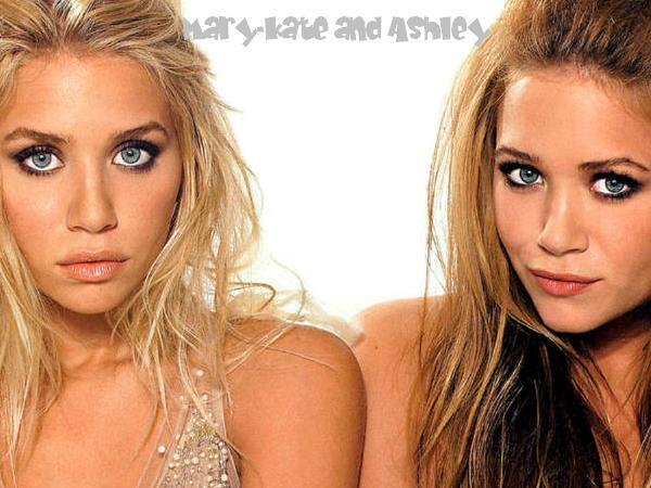 Mary Kate Olsen Wallpaper with Twin Sister Ashley