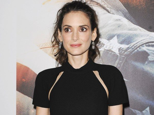 Winona Ryder On the Red Carpet