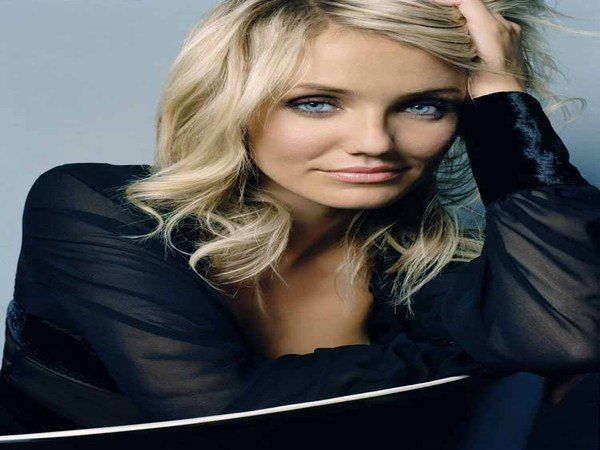 Cameron Diaz Long Shoulder Length Layered Wavy Hair