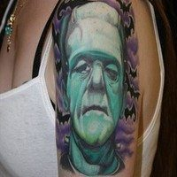 11 Frightening Frankenstein Tattoos