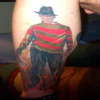 10 Frightening Freddy Krueger Tattoos