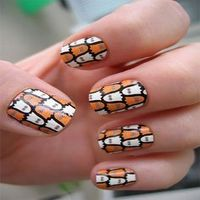 10 Scary Ghost Nail Designs