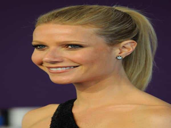 Gwyneth Paltrow with Ponytail Updo