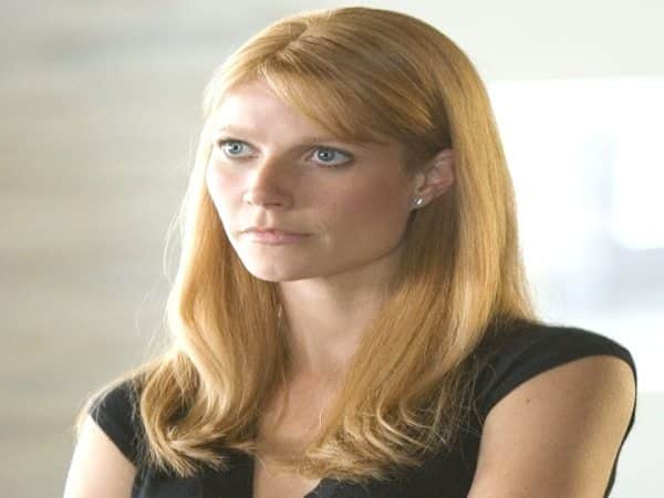 Gwyneth Paltrow Long Red Hair with Bangs