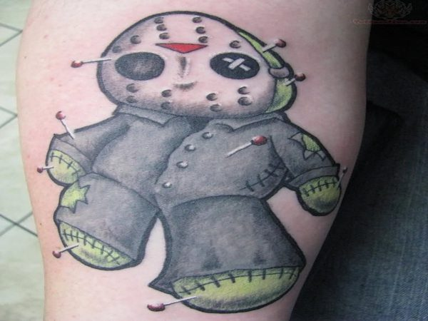 Jason Voorhees Voodoo Doll with Pins