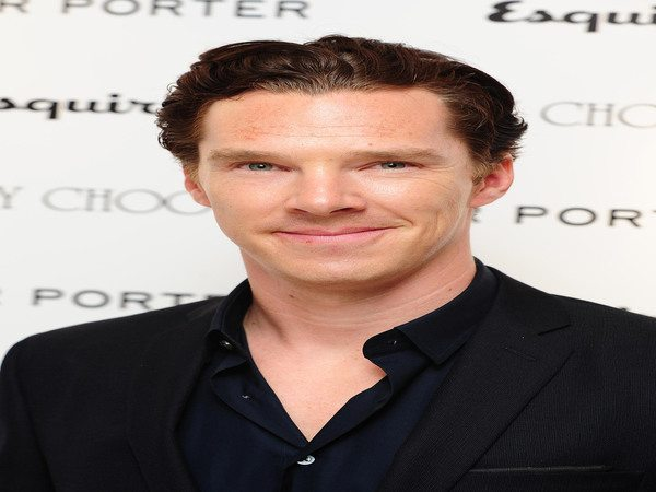 Benedict Cumerbatch with Slicked Back Hairstyle