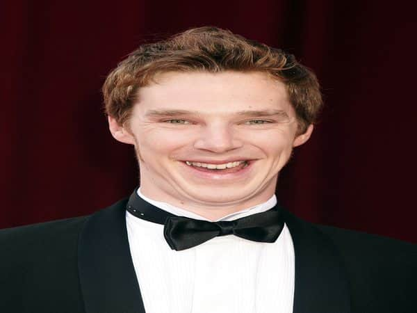 Benedict Cumerbatch with Short Hair and a Spiky Front