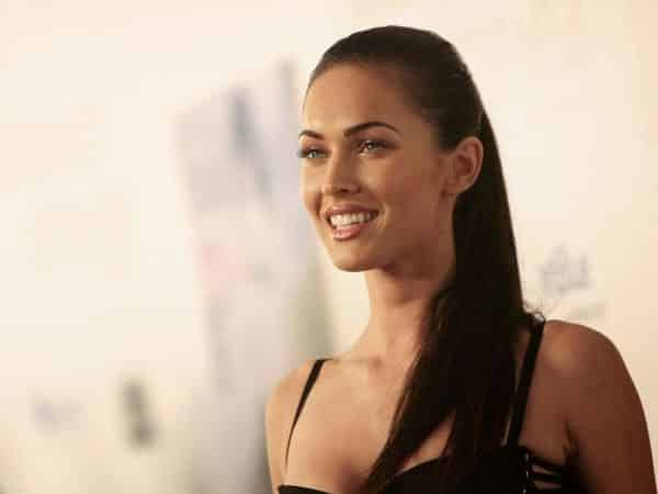 Young Megan Fox Pony Tail Straight Hair