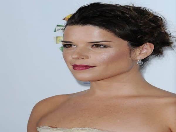 Neve Campbell Braided Updo