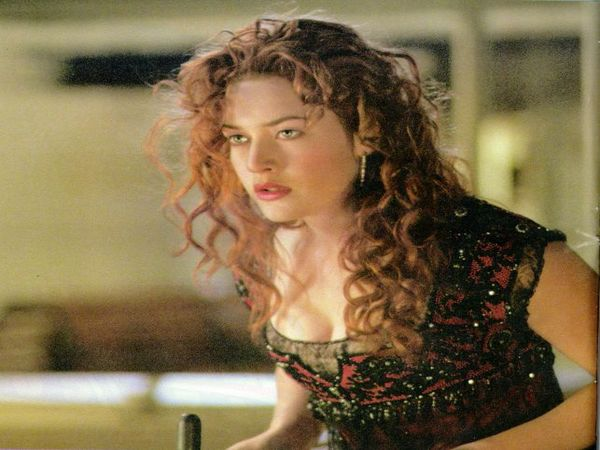 Kate Winslet Long Curly Red Hair