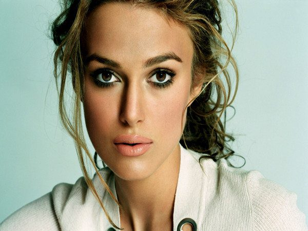 Keira Knightley Curly Hair Pony Tail