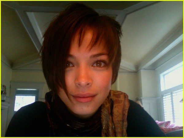 Kristin Kreuk with Short Hair