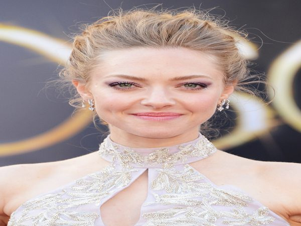 Amanda Seyfried Dark Blond Bun