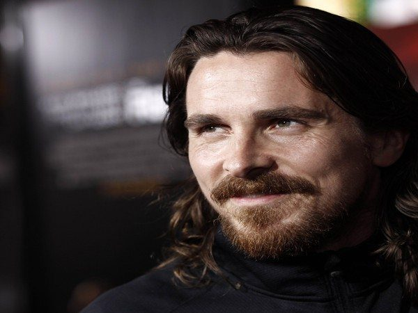 Christian Bale Shoulder Length Long Curly Hair