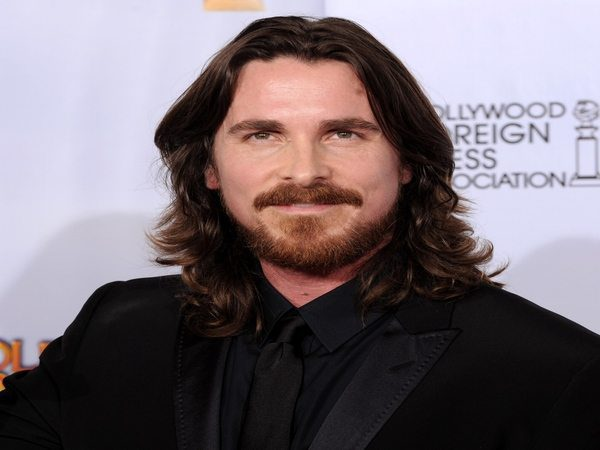 Christian Bale Long Curly Hair
