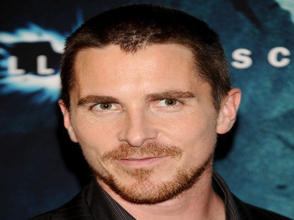 Christian Bale Grown Out Buzzed Hair