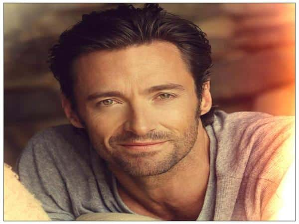 Hugh Jackman Slicked Back Hair