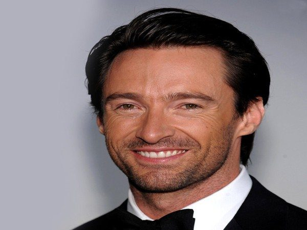 Hugh Jackman Slicked Back Grown Out Hair