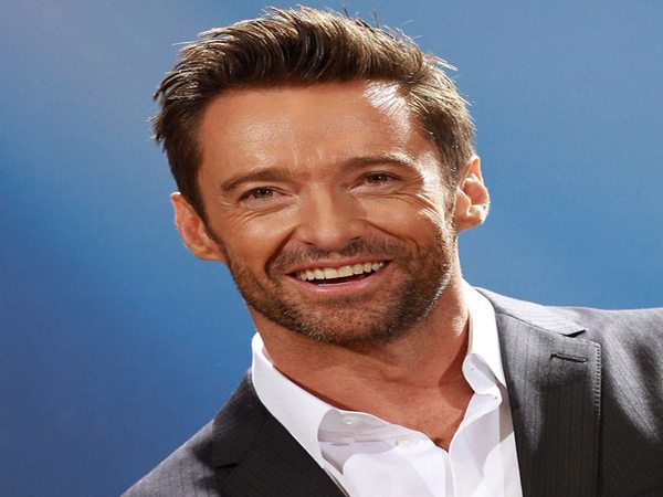 Hugh Jackman Spiky Hair and Shaved Sides