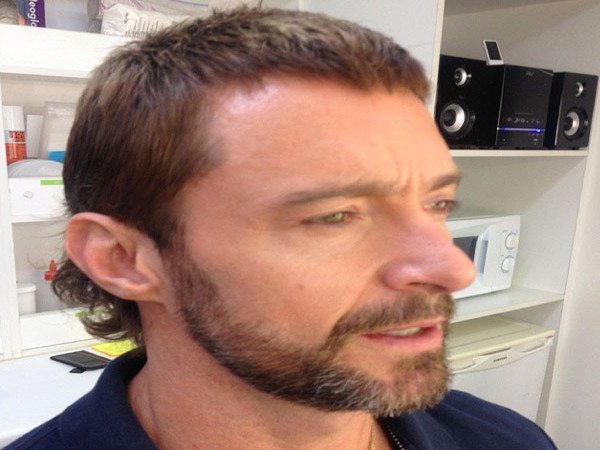 Hugh Jackman Short Light Brown Hair