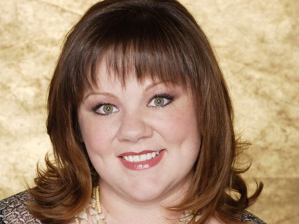 Melissa McCarthy Straight Hair with Bangs