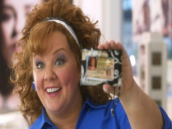 Melissa McCarthy Light Brown Curly Hair
