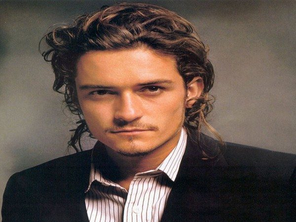 Orlando Bloom Long Curly Hair