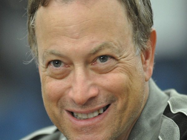 Gary Sinise Grown Out Salt and Pepper Hair