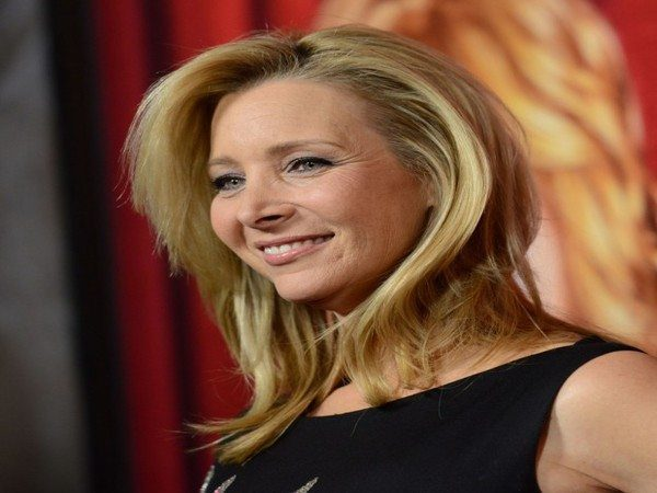 Lisa Kudrow Wind Swept Blond with Side Parted Bangs