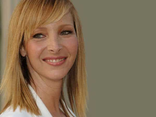 Lisa Kudrow with Short Straight Strawberry Blond Hair