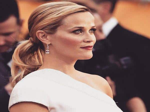 Reese Witherspoon Blond Pony Tail