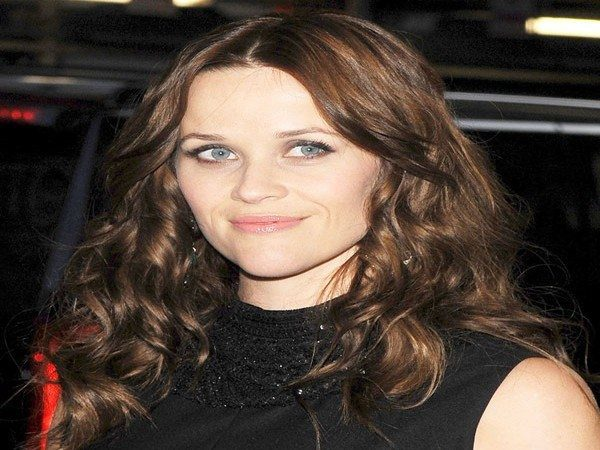 Reese Witherspoon Long Brunette Curly Hair