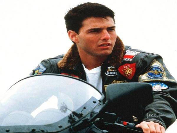 Tom Cruise Brunette Buzz Cut