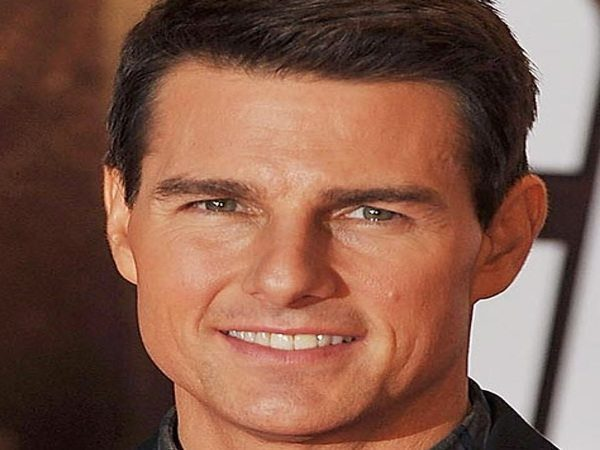 Tom Cruise Short Hair with Hints of Grey