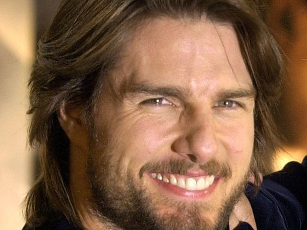 Tom Cruise Light Brown Long Layered Hair